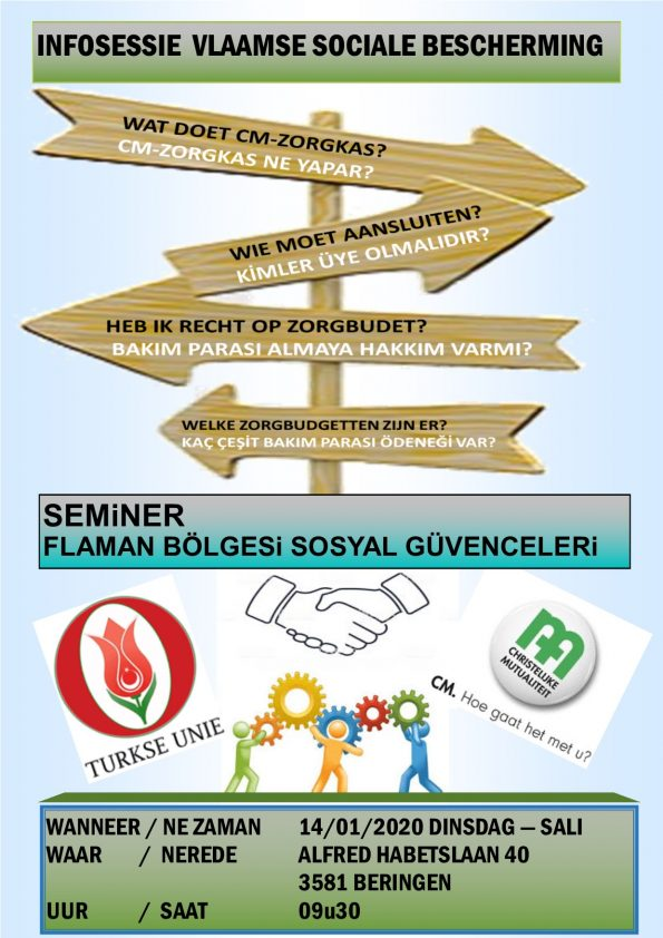 Infosessie over Vlaamse Sociale bescherming