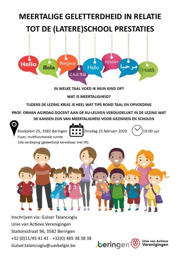 Meertalige geletterdheid in relatie tot de (latere) school prestaties