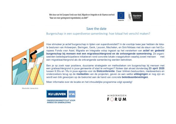 Save The date- Slotconferentie