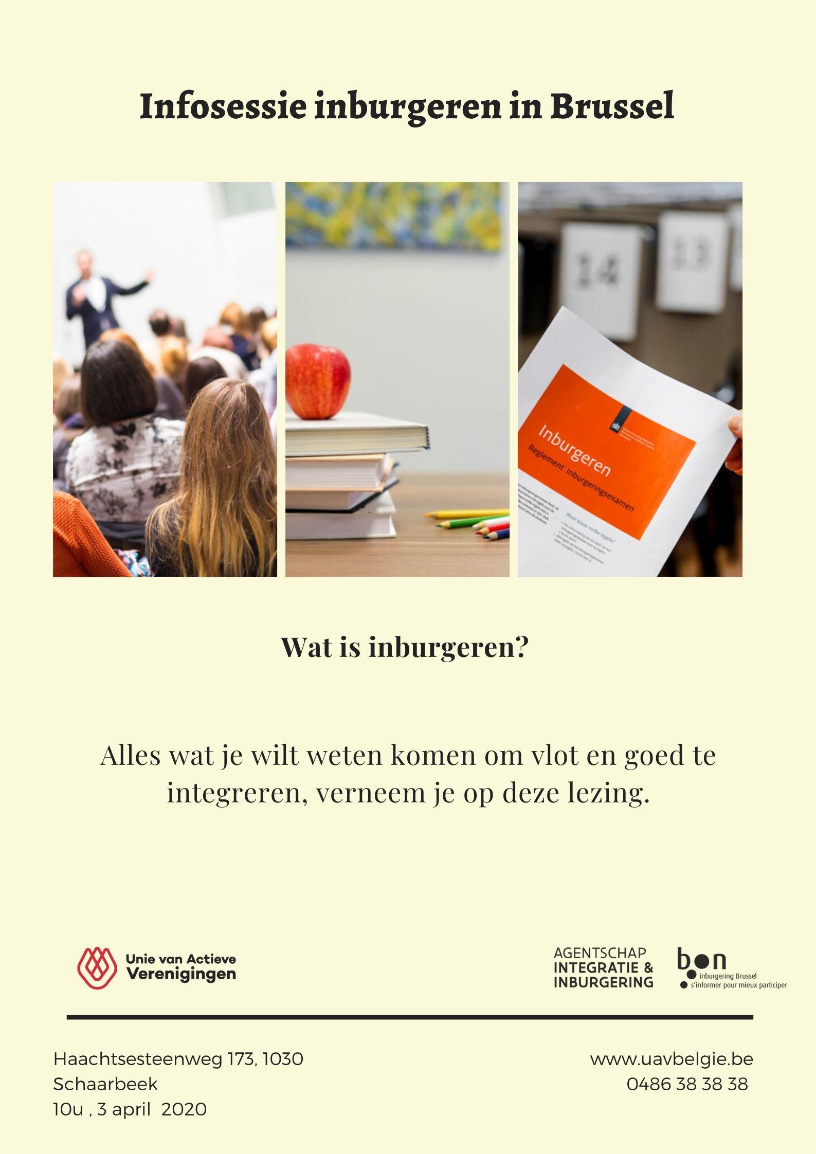 Infosessie: Inburgeren in Brussel