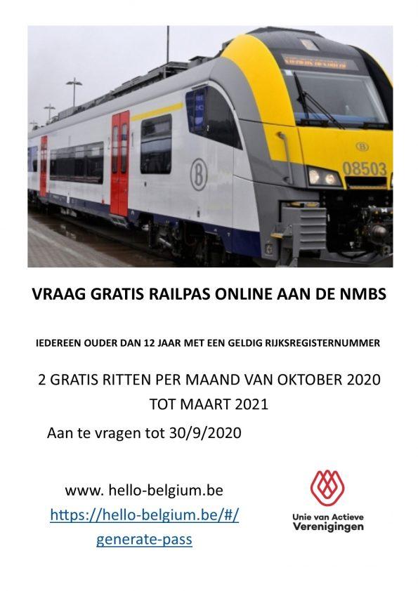 Vraag je Hello Belgium Railpas aan