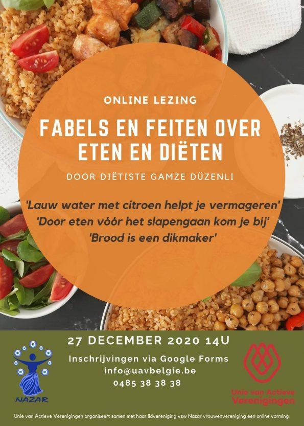 Online lezing: 'Fabels en feiten over eten en diëten'
