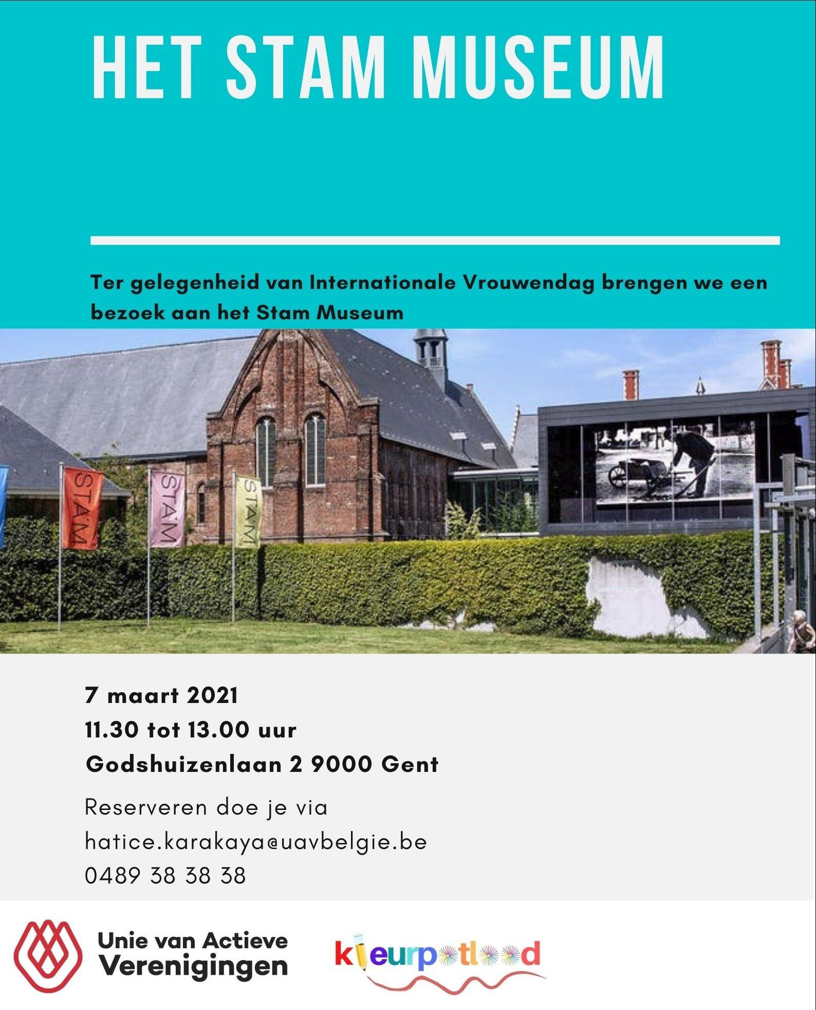 Bezoek Stam Museum Gent