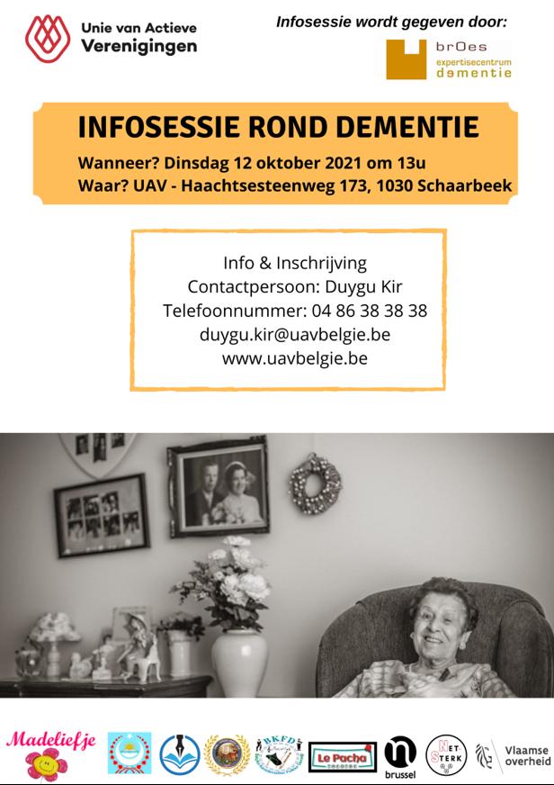 Infosessie dementie Brussel